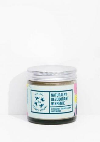 CZTERY SZPAKI Dezodorant w kremie cytrusowo-ziołowy bez aluminium 60ml